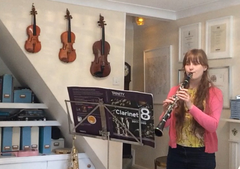 Private Clarinet Student