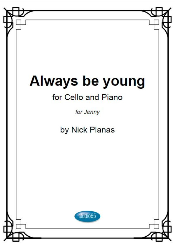A4 front_Always be young 2018