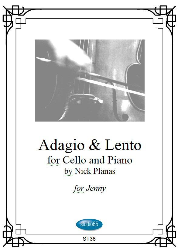 Adagio & Lento front cover